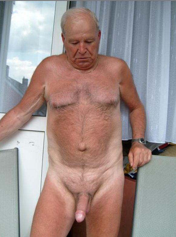 elderly men cock pics